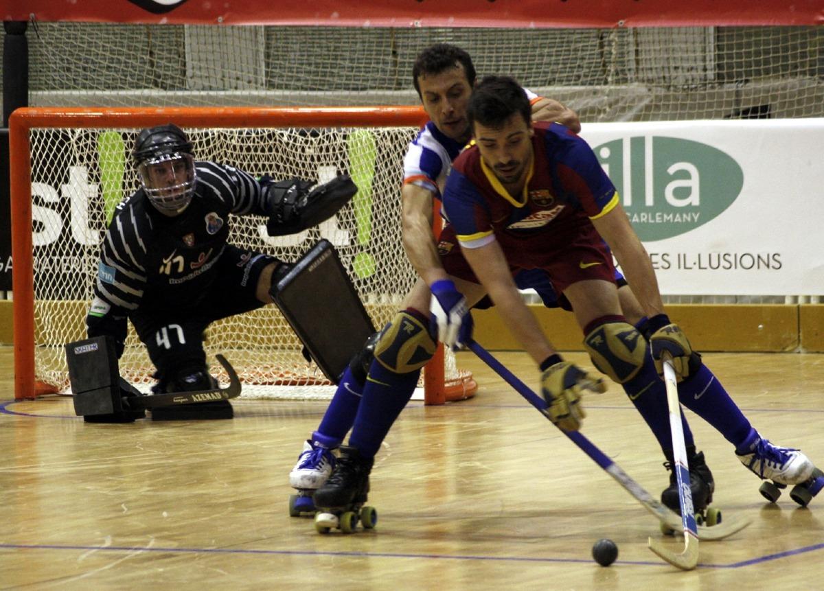 L'Eurolliga d'hoquei patins del 2011, al Poliesportiu. Foto: FEP.ES