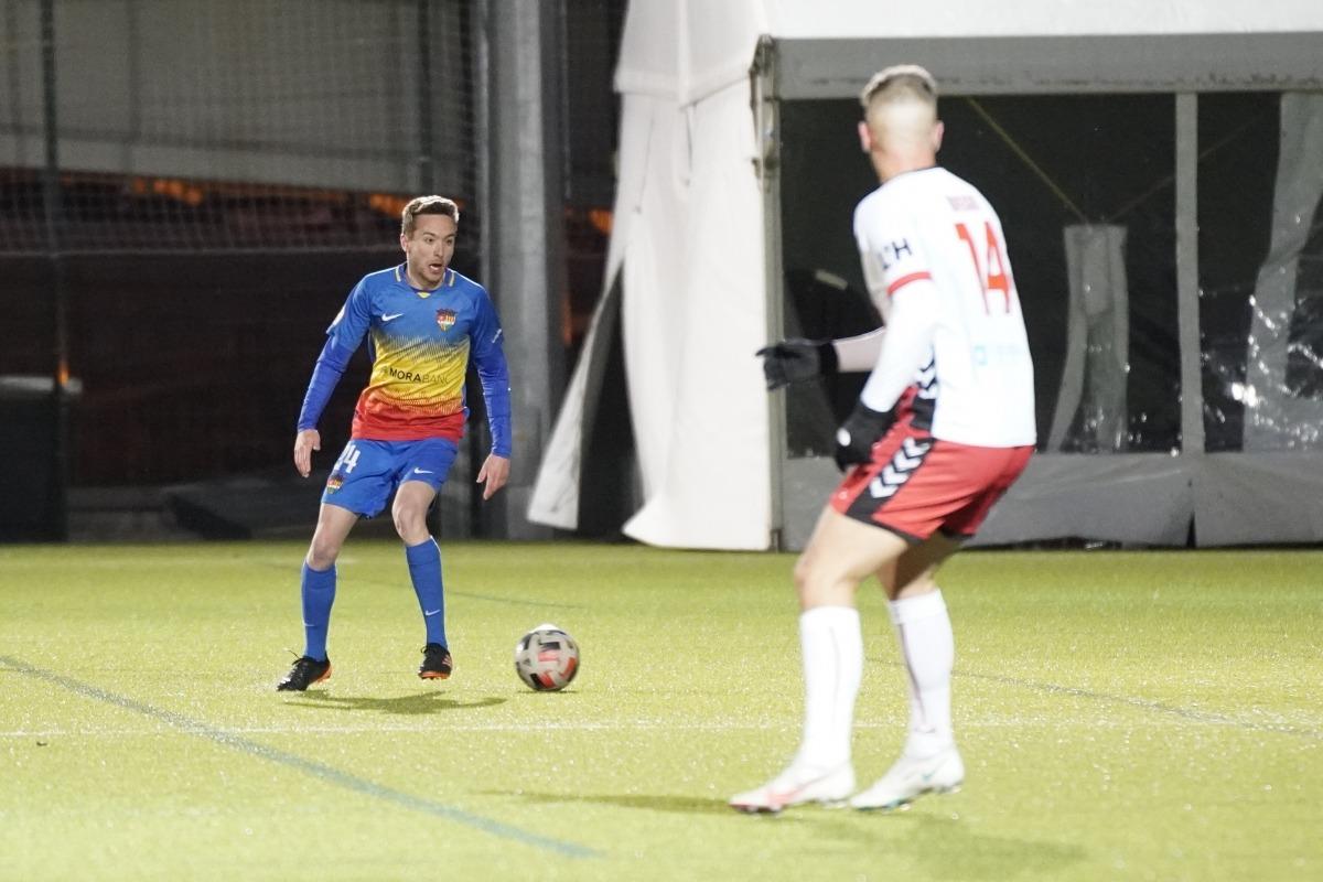 Marc Aguado, de l'FC Andorra. Foto: FC Andorra