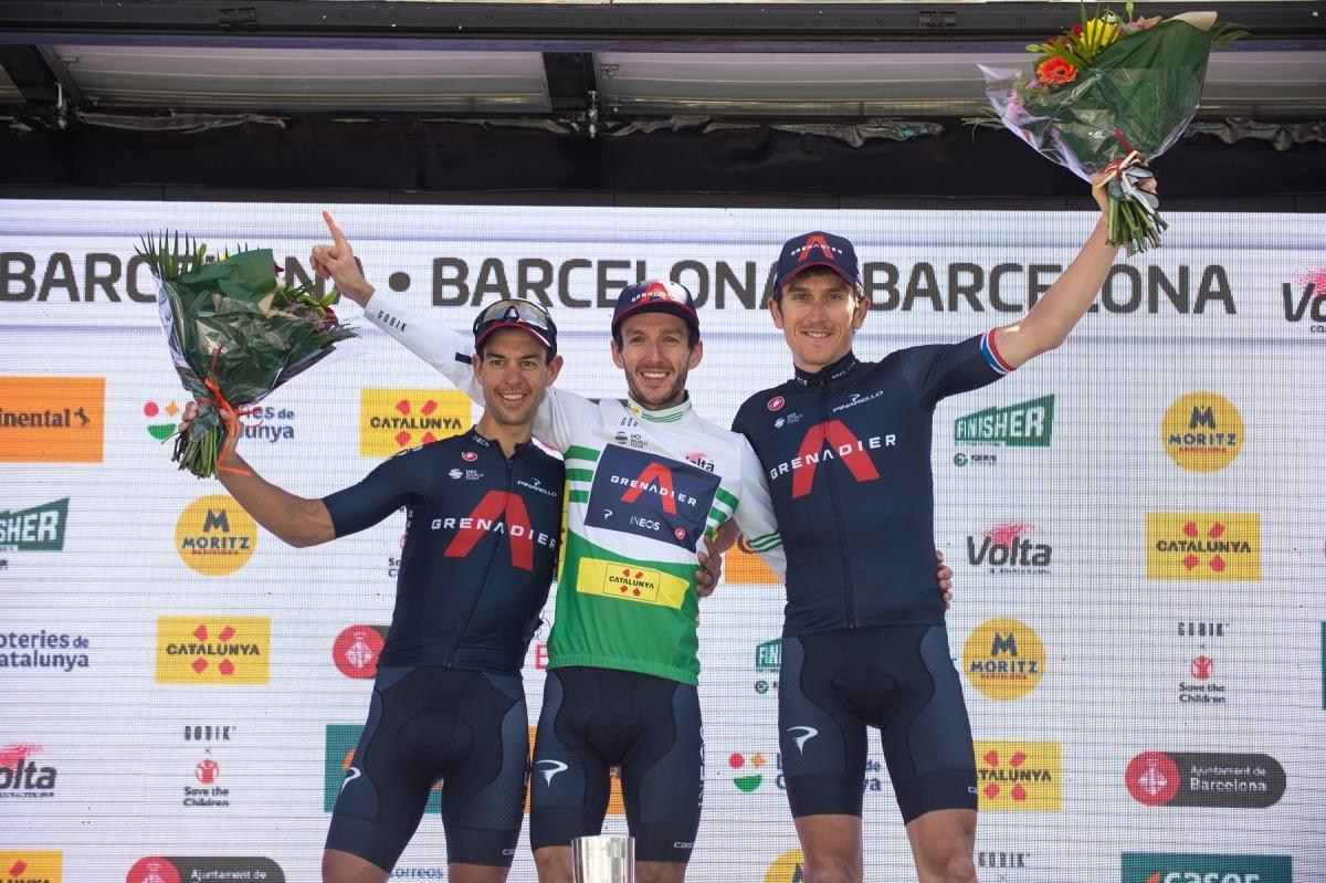 Adam Yates, campió de la Volta. Foto: Volta a Catalunya