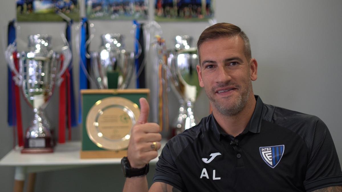 Albert Lopo ja exerceix aquesta setmana com a nou tècnic de l'Inter Club Escaldes. Foto: Interescaldes.com