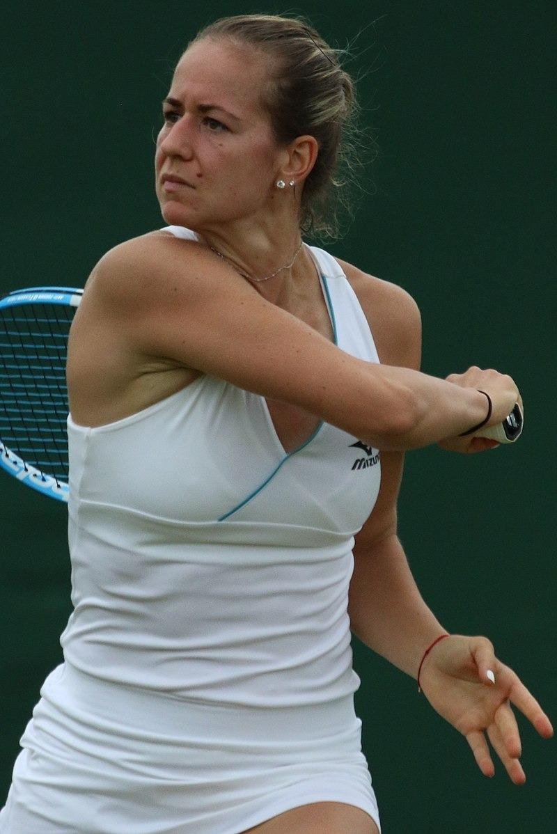 Anna Bondár, rival avui de Vicky. Foto: Twitter