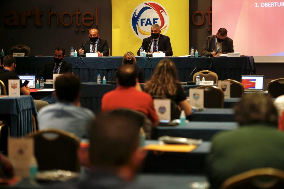 La Federació de Futbol va fer ahir l'assemblea general a l'Art Hotel. Foto: FAF