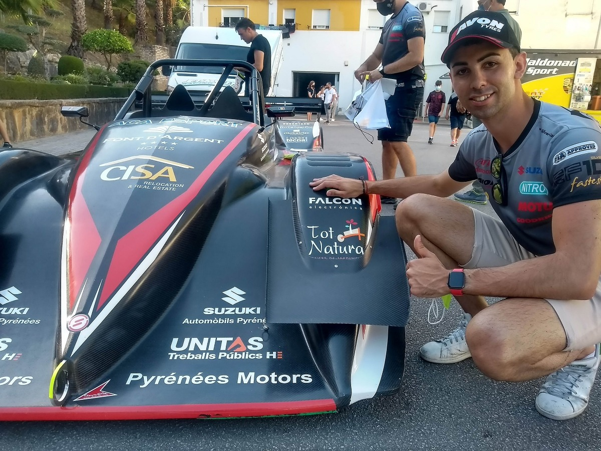 Raül Ferré, patrocinat per CISA Immobiliària, estarà al FIA Masters de Muntanya. Foto: Fotoesport