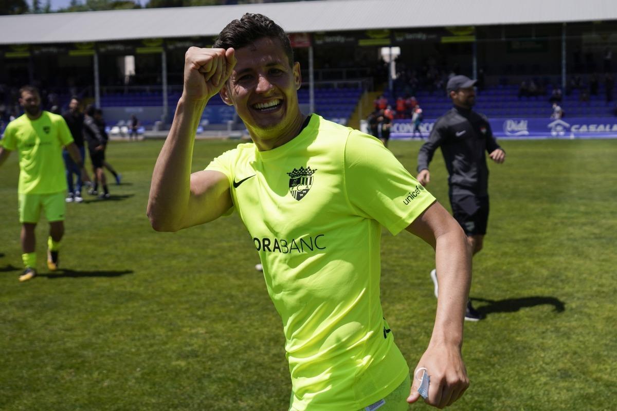 Rubén Bover, a Alcoià. Foto: FC Andorra