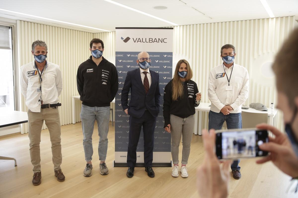 Lluís Marín i Maeva Estevez van fer ahir el balanç del curs passat a Vall Banc. Foto: Facundo Santana