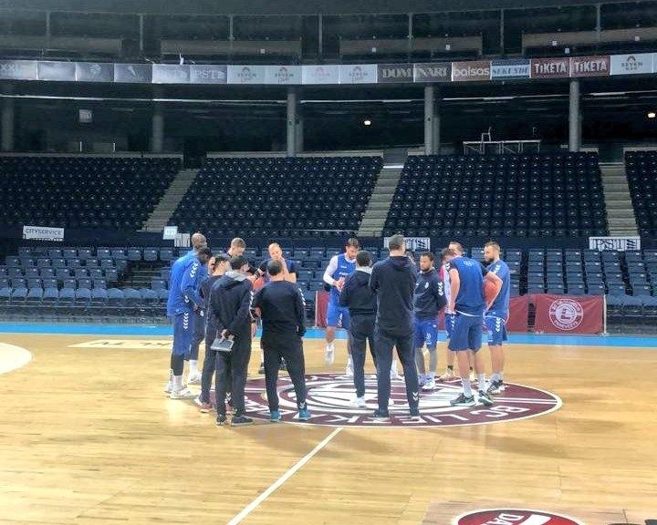 El BC MoraBanc, al Cido Arena. Foto: Twitter BC MoraBanc