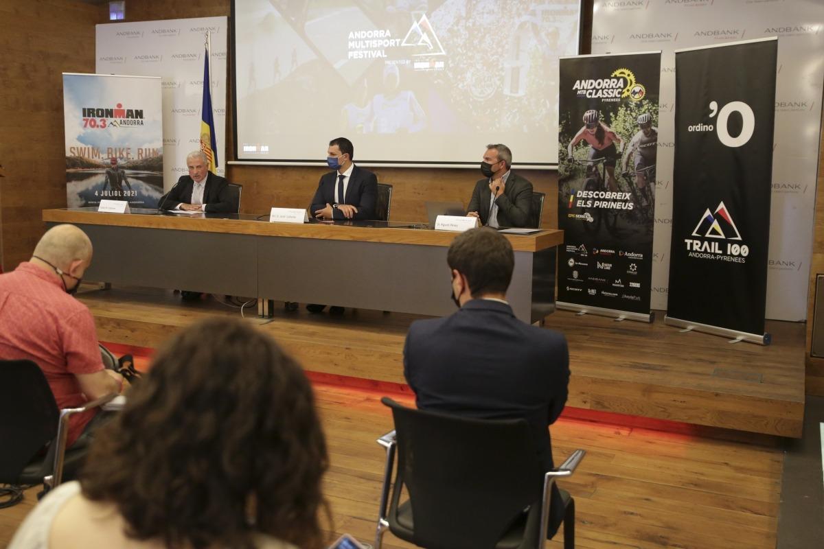 La prova d'IronMan 73 del Multisport Festival estarà patrocinada per Andbank. Foto: Facundo Santana
