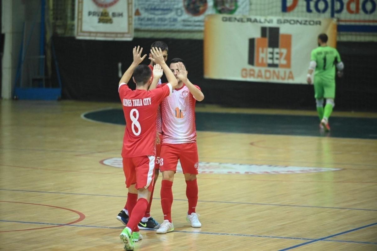 L'FC Salines Tuzla City de Bòsnia i Hercegovina serà el rival del Sideco FC Encamp. Foto: Facebook