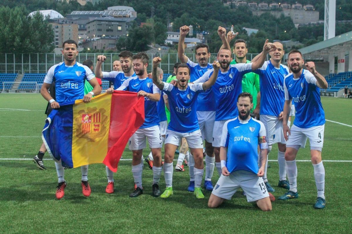 L'Inter Club Escaldes, campió de Lliga i Copa, defensarà enguany els dos títols. Foto: Inter Club Escaldes