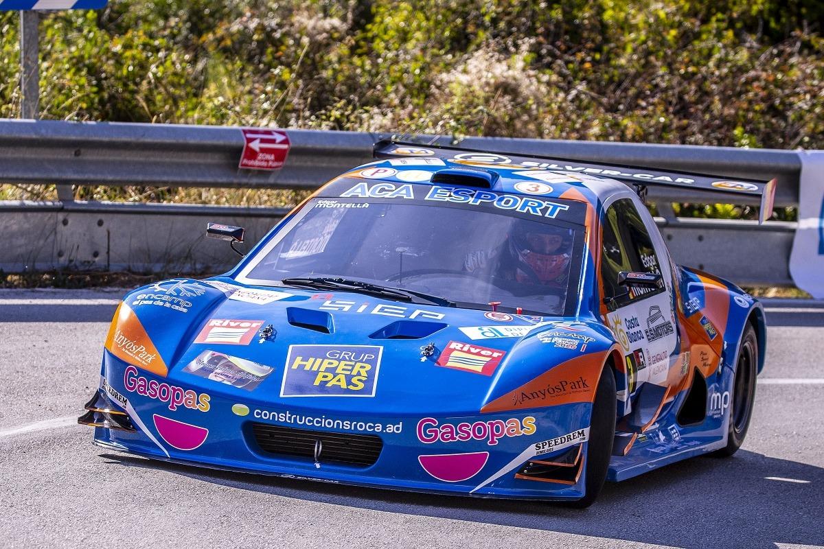 Edgar Montellà, amb el Silver Car, va assolir el tercer lloc a la prova del CEM. Foto: Fotoesport