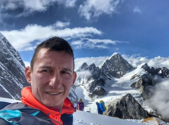 David Nosas, l'alpinista sabadellenc. Foto: Instagram