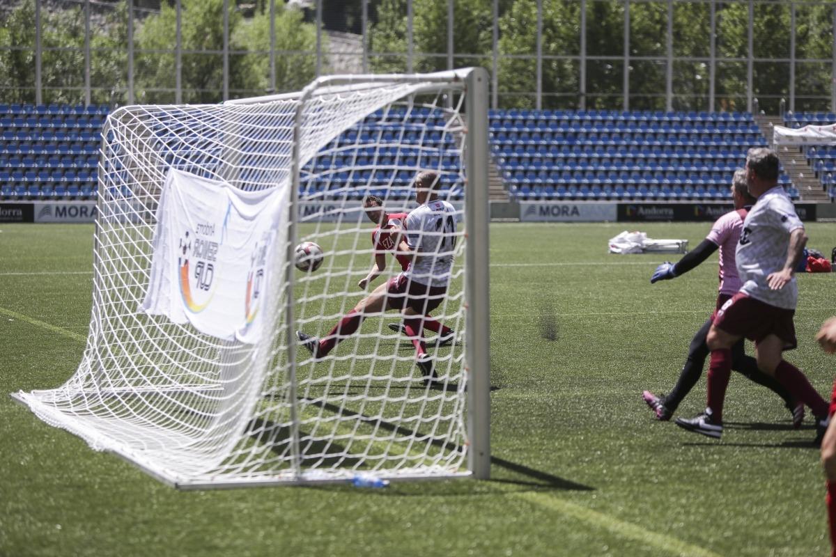 L'Ezar, campió de l'Andorra Sènior Cup. Foto: Facundo Santana