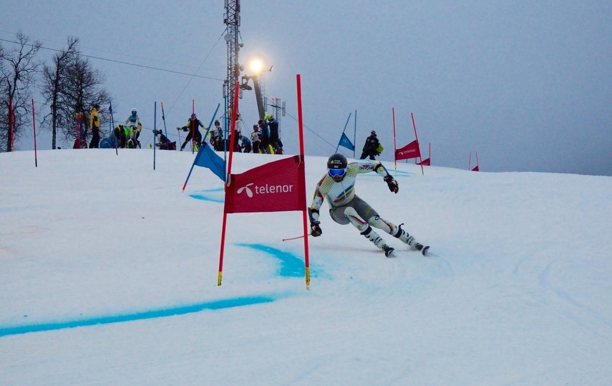 Joan Verdú s'estrena divendres a Arosa (Suïssa) en un gegant FIS. Foto: FAE