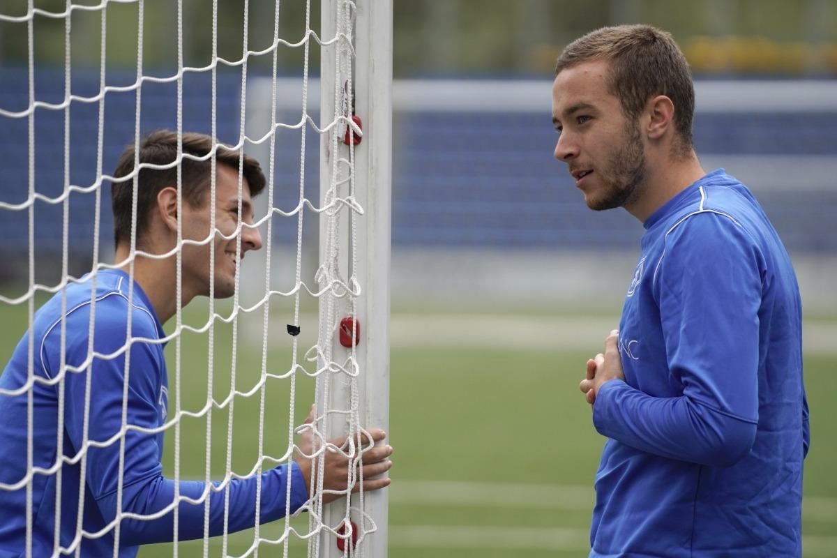 Marc Aguado torna demà a jugar. Foto: FC Andorra