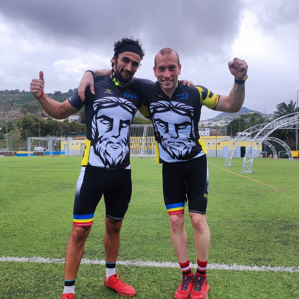Guillermo López i Jürgen Espejo. Foto: Facebook