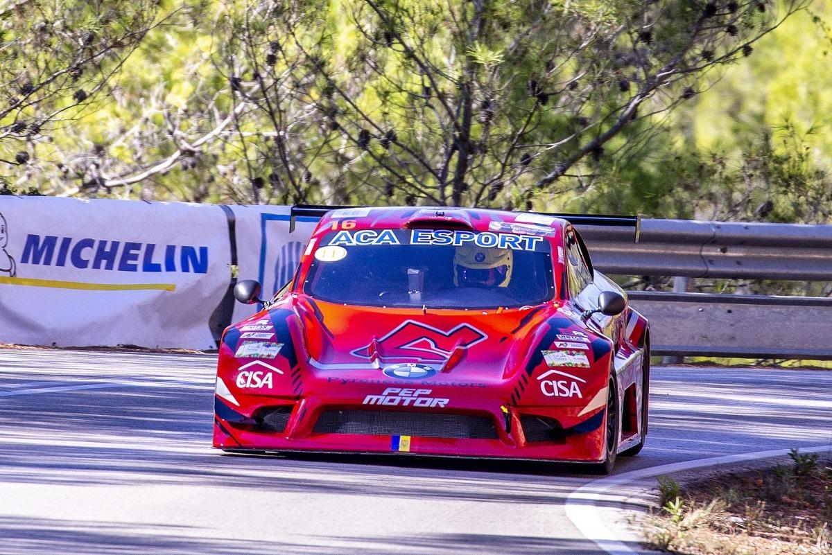 Raül Ferré, amb el seu Speed Car, va finalitzar en segona posició a Bolulla. Foto: Fotoesport