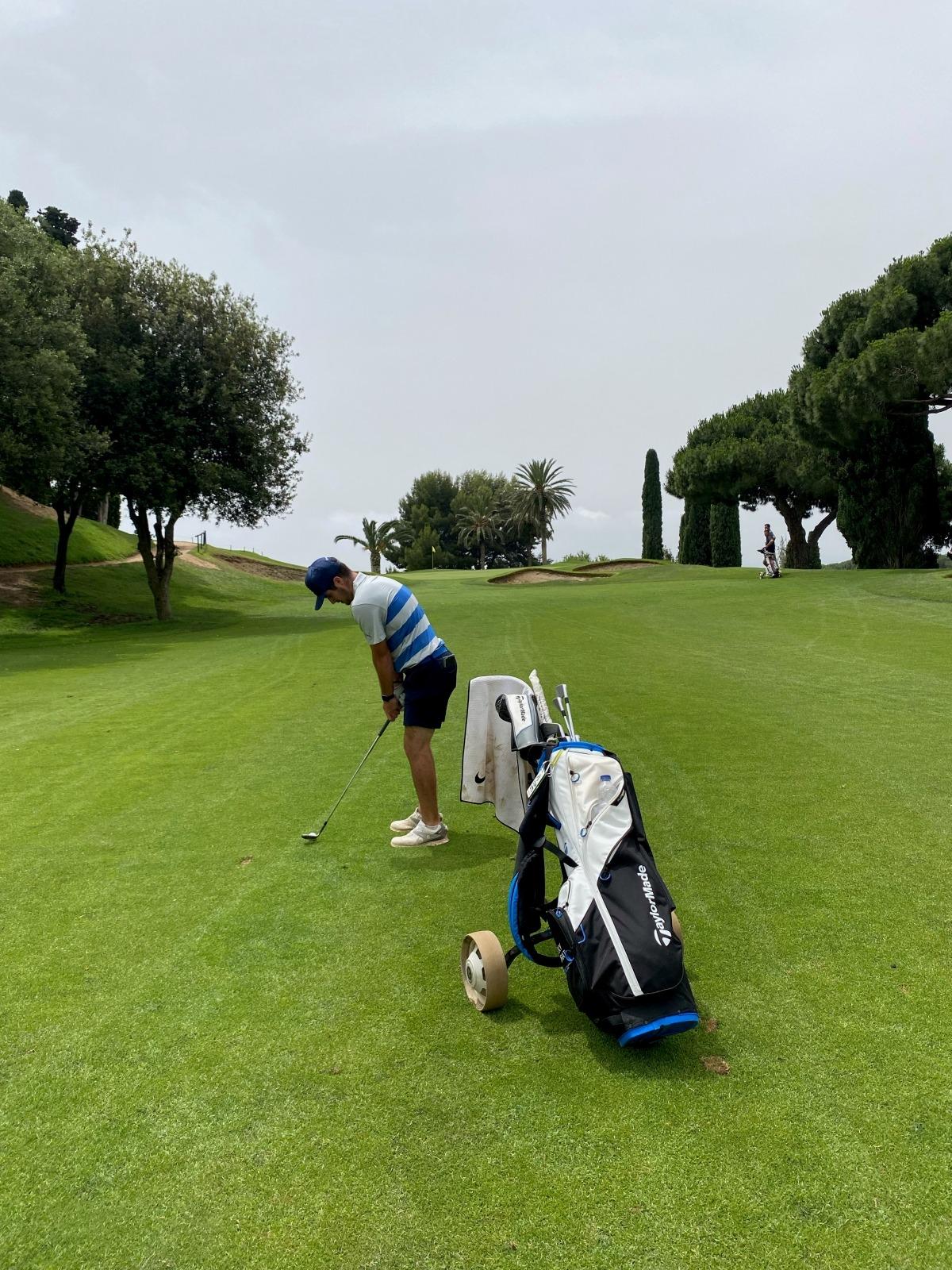Ricky Morat, a la selecció. Foto: Foto cedida per Ricky Morat