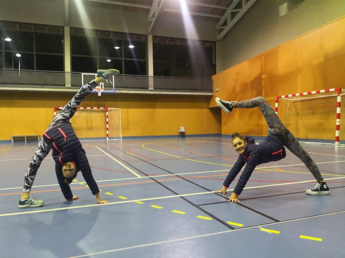 Dues gimnastes de la Federació Andorrana de Gimnàstica competiran a Kiev. Foto: FAG