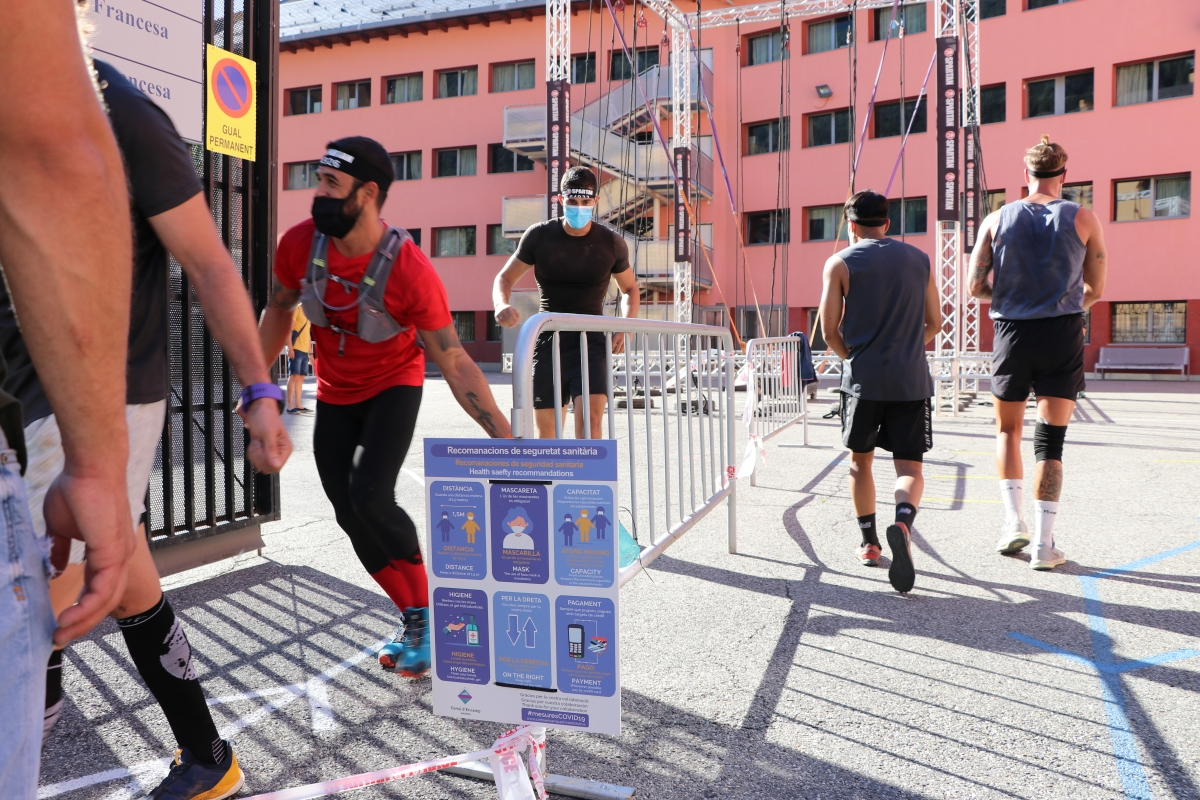 L'Spartan Race ja té preparada la segona edició, que se celebrarà a Encamp. Foto: Comú d'Encamp