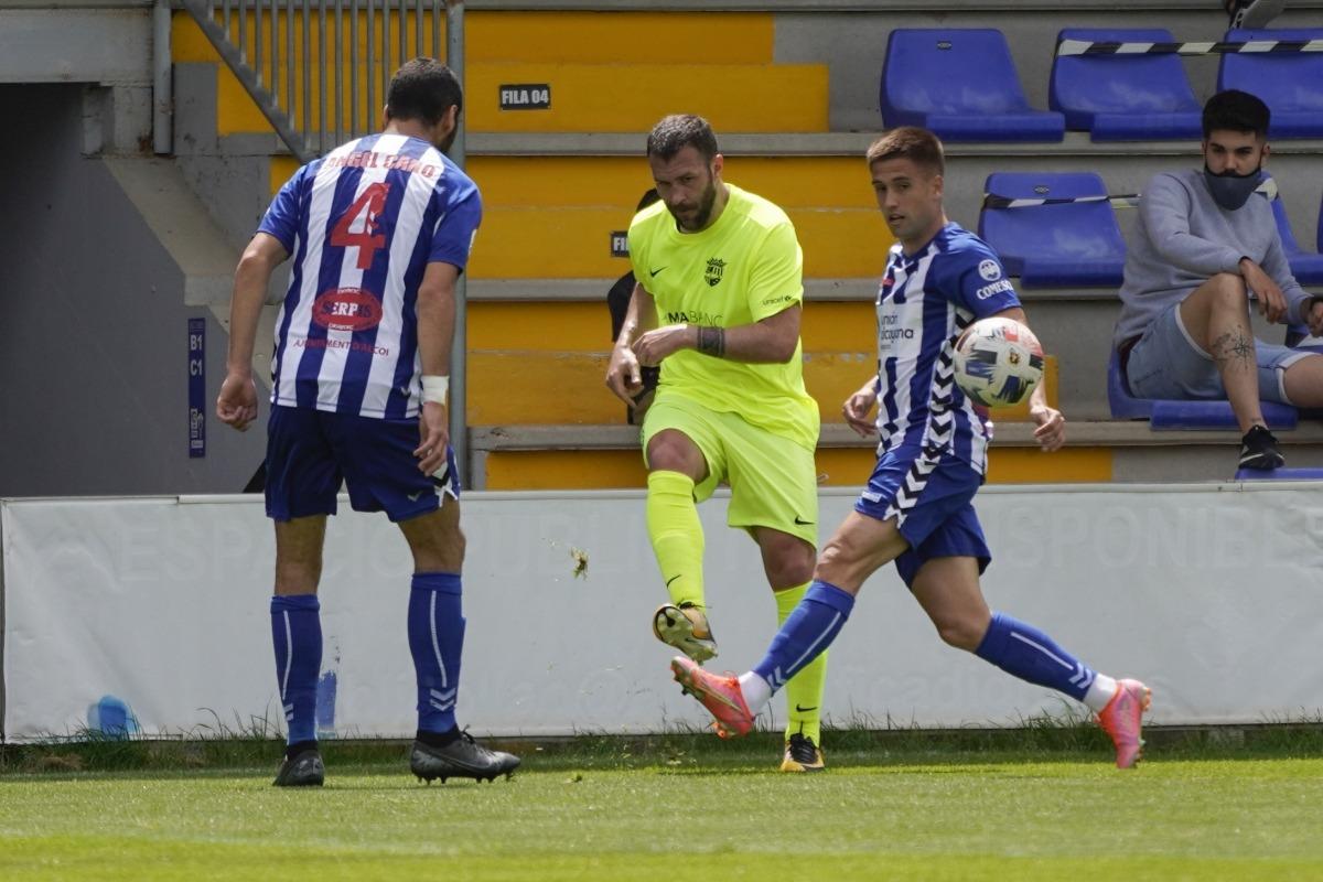 Víctor Casadesús deixa l'FC Andorra. Foto: FC Andorra