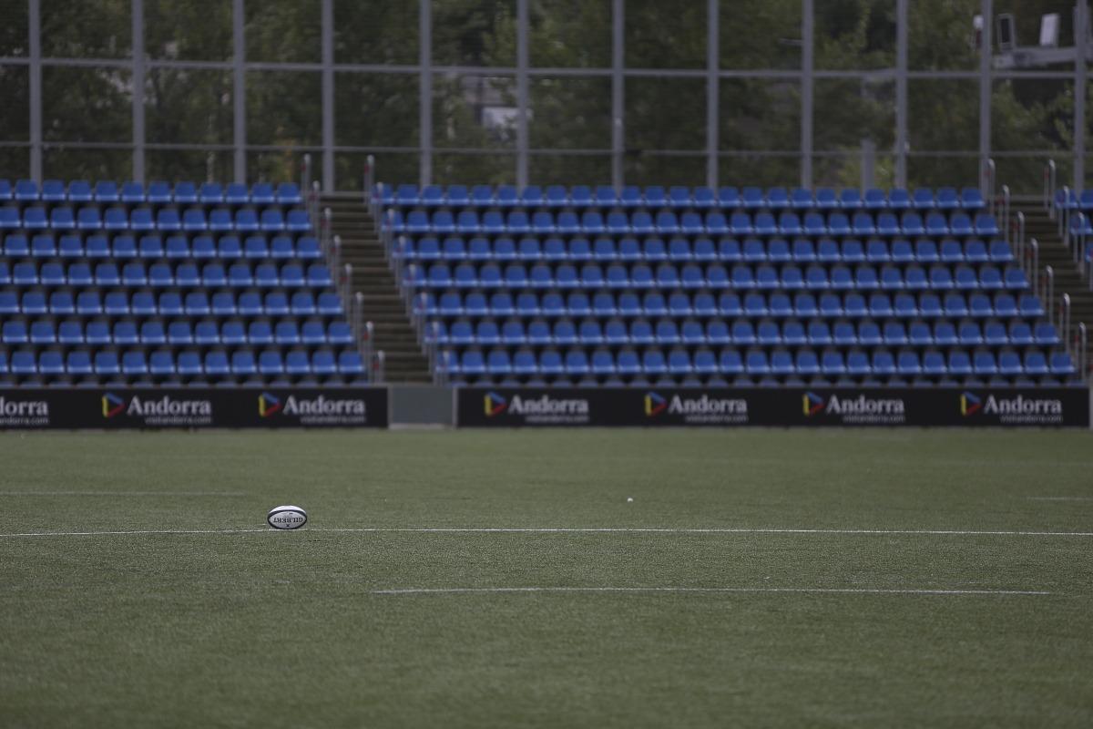 L'oval del VPC Andorra i també de tots els clubs amateurs de França es 'confina'. Foto: Facundo Santana