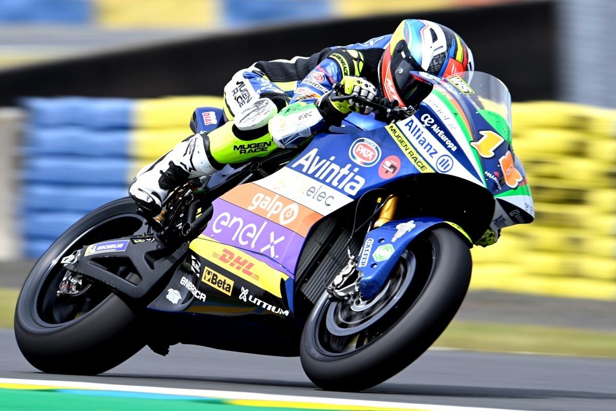 Xavi Cardelús, al circuit de Le Mans. Foto: Avintia Esponsarama Racing