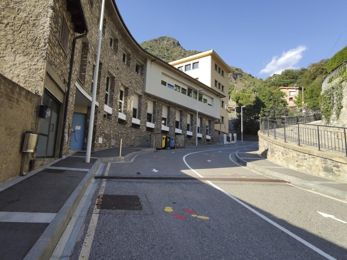 Les instal·lacions de l'escola francesa d'Escaldes-Engordany.