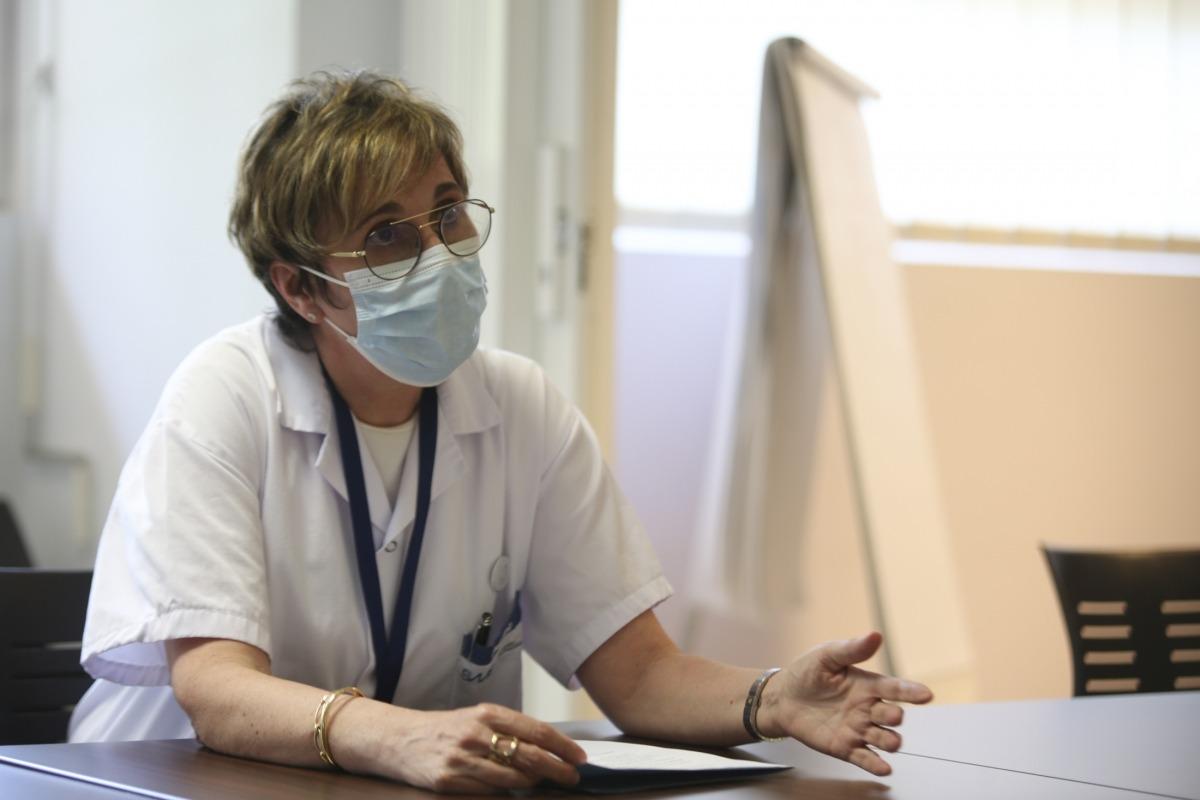 La coordinadora clínica de la Unitat de Conductes Addictives (UCA), Angelina Santolària.