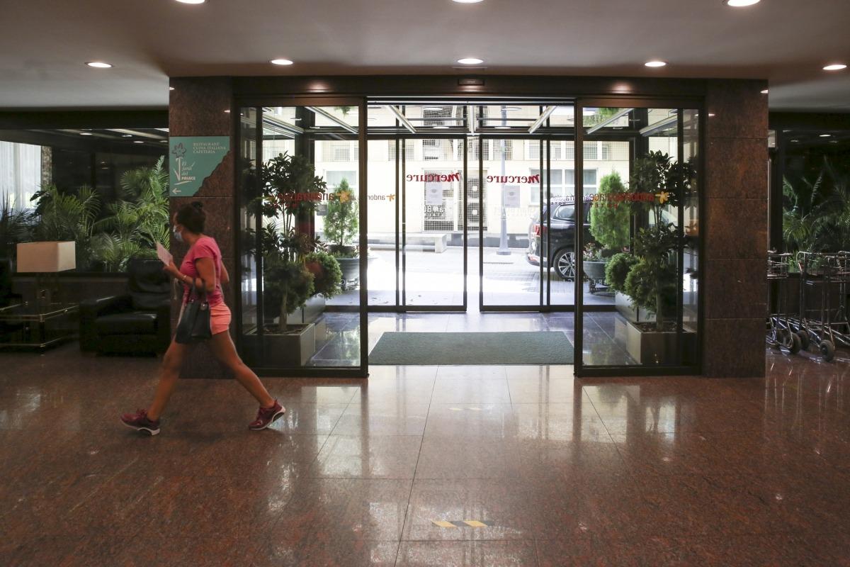 Les instal·lacions d'un establiment hoteler del Principat.