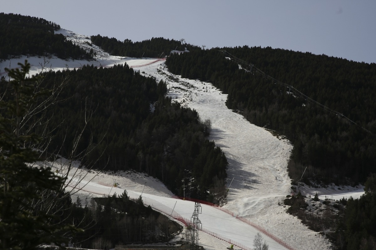 Les pistes d'esquí del Tarter.