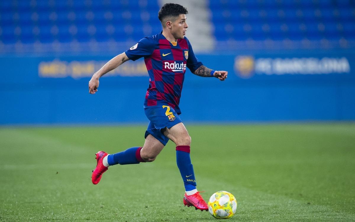 Dani Morer en la seva etapa al Futbol Club Barcelona.
