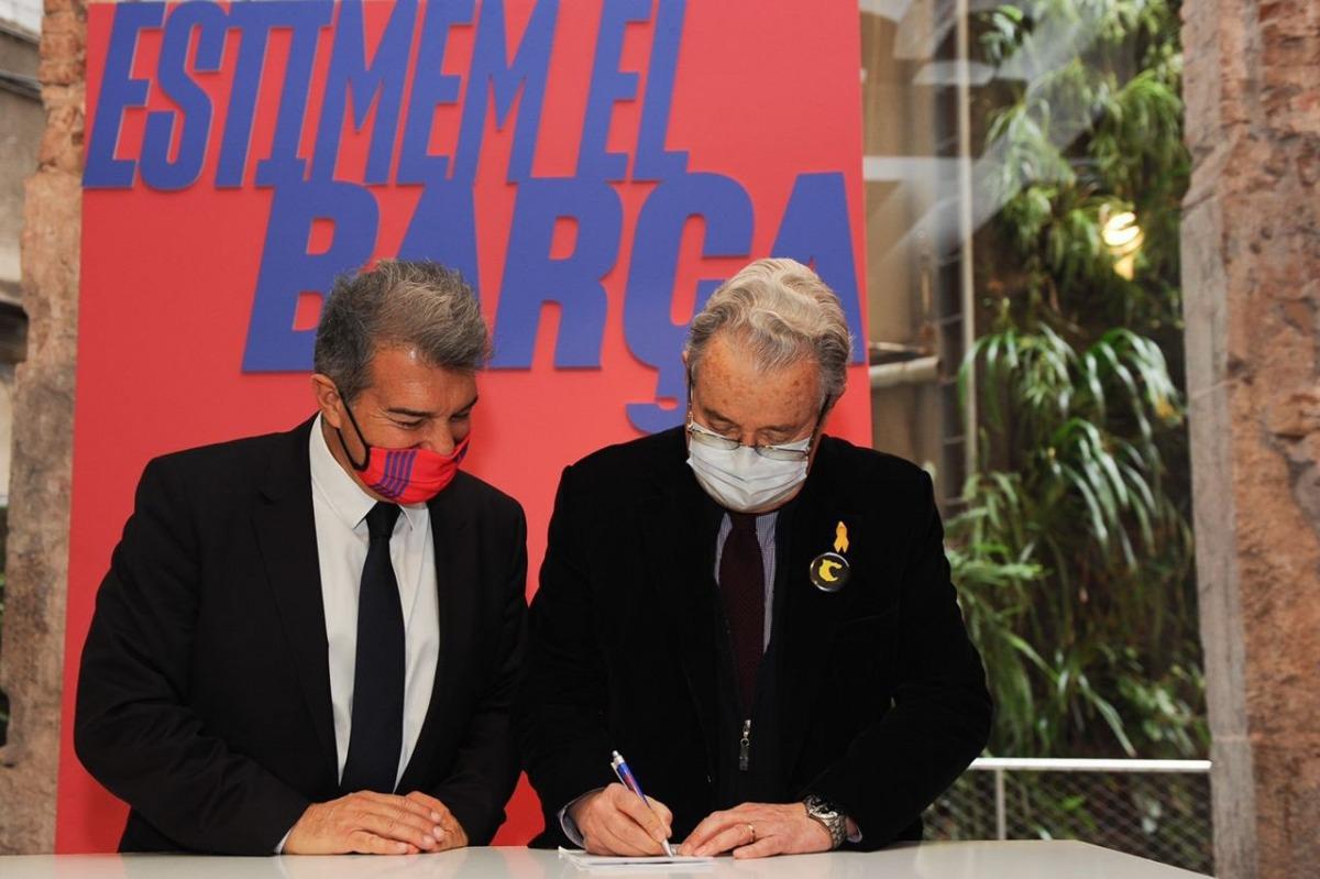 Joan Laporta, expresident del Barça. Foto: Twitter