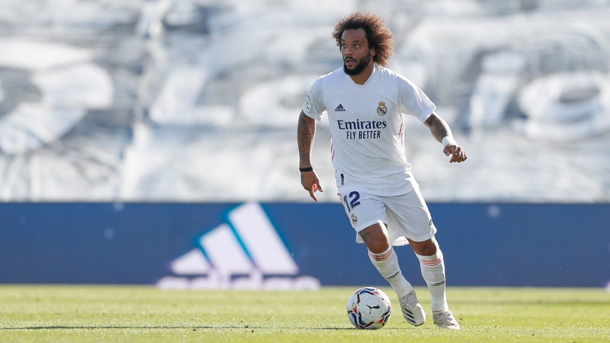 Marcelo Vieira, lateral del Madrid. Foto: Reial Madrid