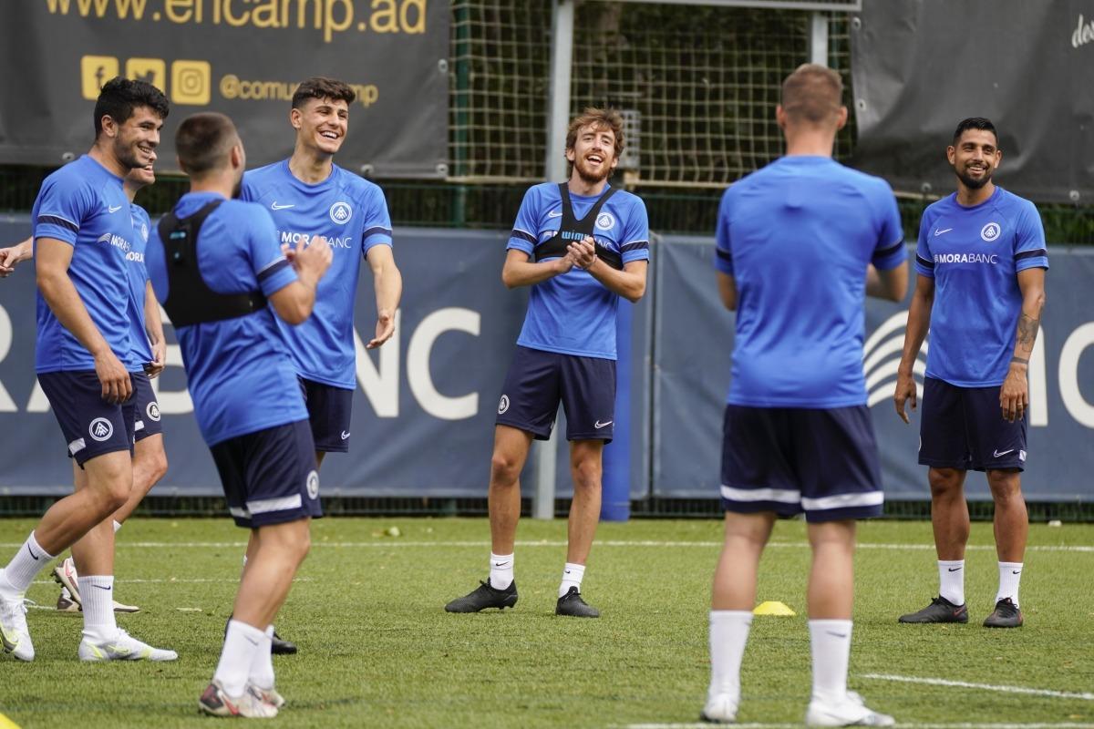 Rai Marchán deixa l'FC Andorra. Foto: FC Andorra
