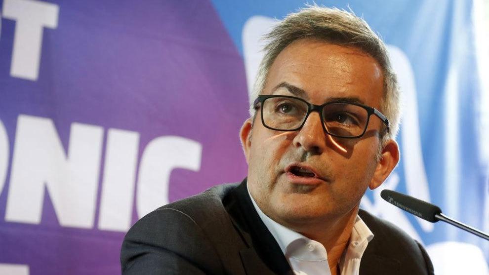 Víctor Font, empresari granollerí i precandidat a les eleccions de l'FC Barcelona. Foto: Twitter