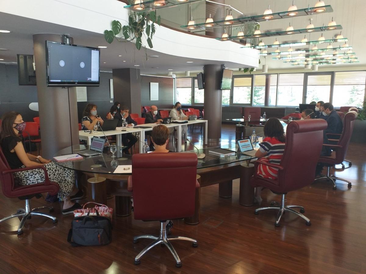 El Consell de Comú celebrat a Canillo dimecres al matí, on el cònsol major, Francesc Camp, va intervenir telemàticament.