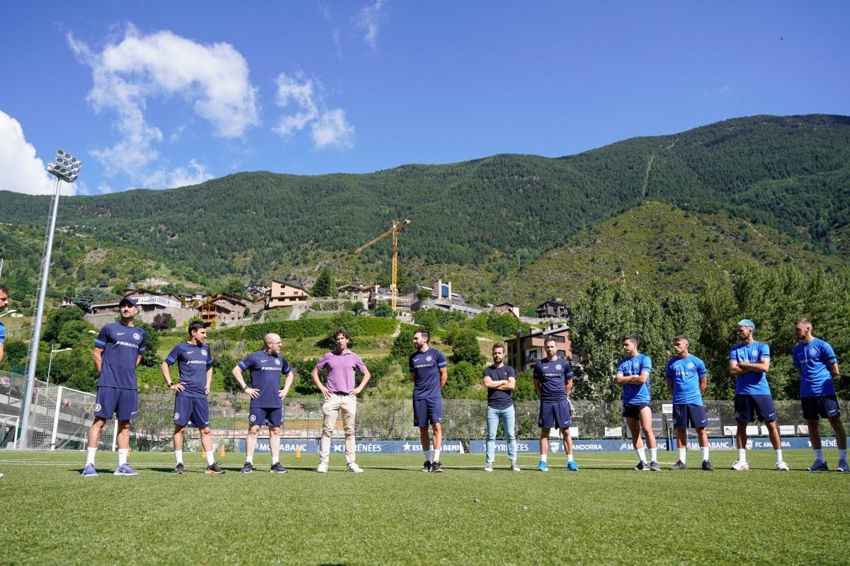 L'FC Andorra va començar ahir la pretemporada. Foto: FC Andorra