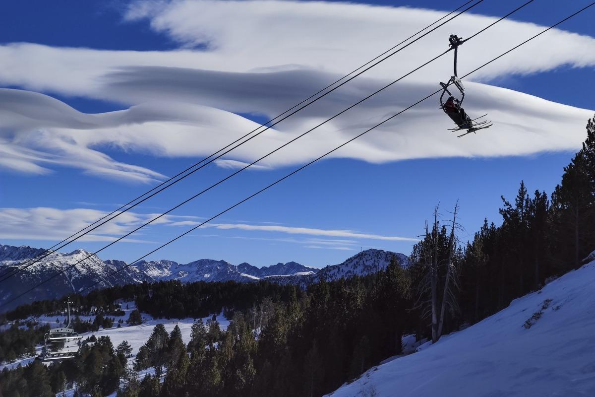 Les pistes de Pal sense esquiadors.