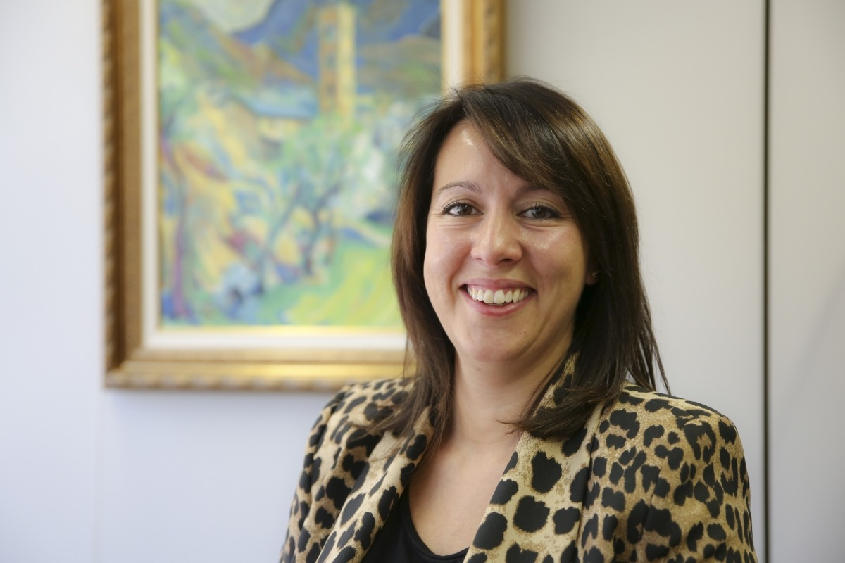 La consellera d'Agrupament Encampadà al Comú d'Encamp, Esther Vidal.