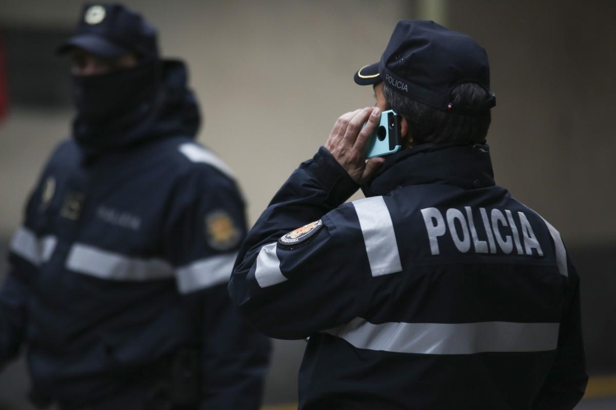 Agents de la policia en una imatge d'arxiu.