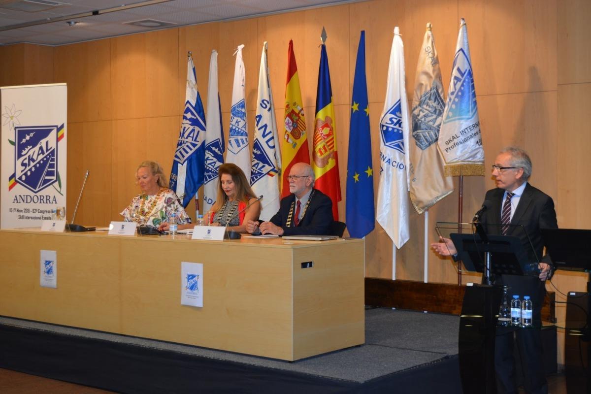 Un moment del congrés d'Skal Espanya que va tenir lloc a Andorra.