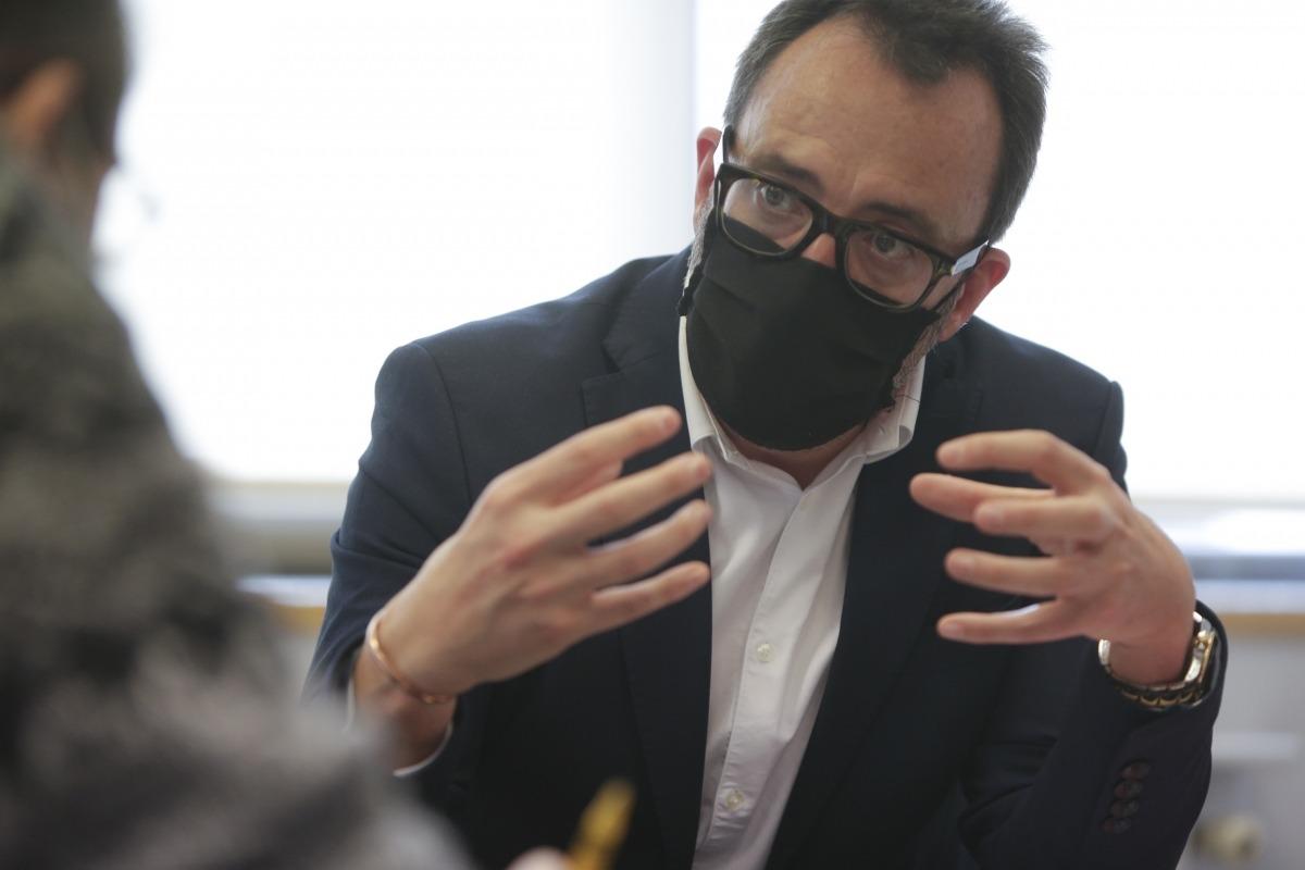 El ministre d'Afers Socials, Habitatge i Joventut, Víctor Filloy.