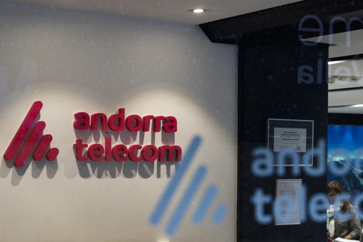 Les instal·lacions d'Andorra Telecom.