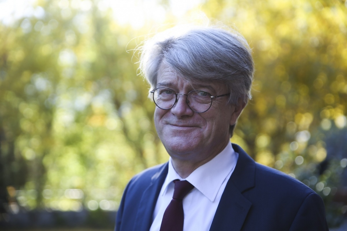 L'ambaixador francès, Jean-Claude Tribolet.