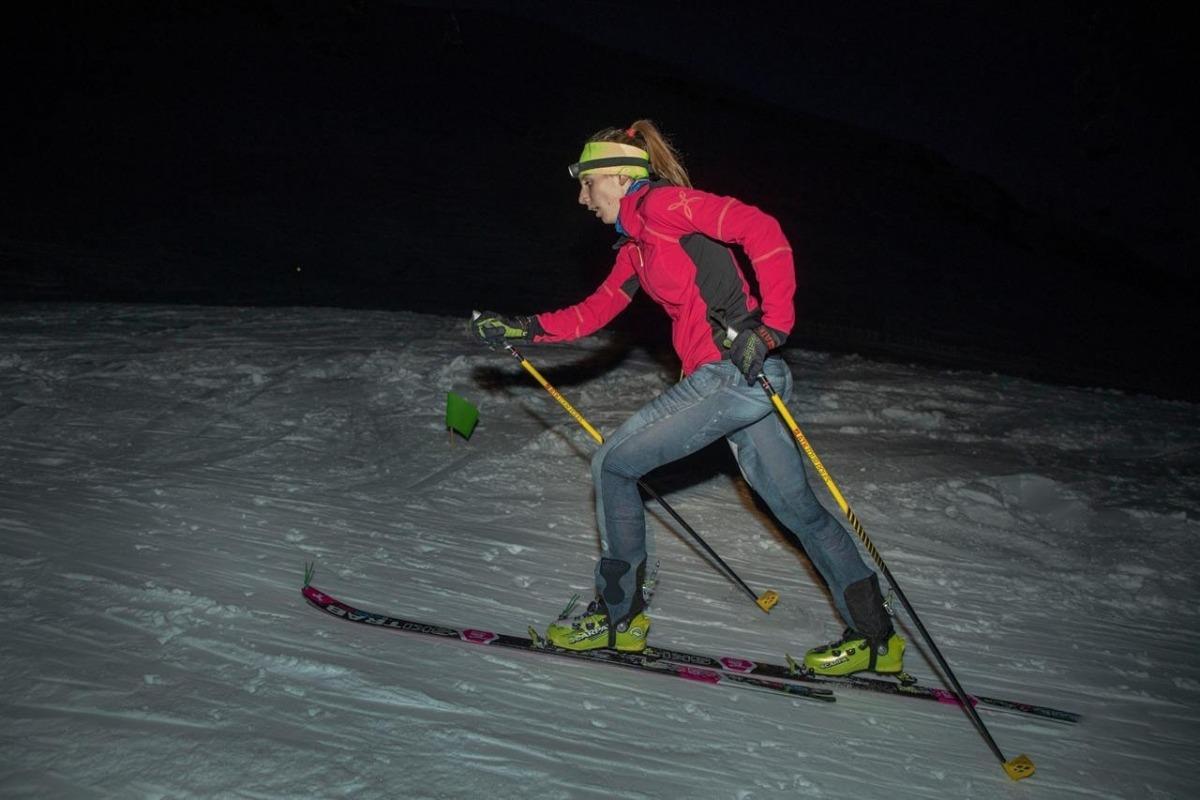 Laia Sebastià, campiona d'Andorra.