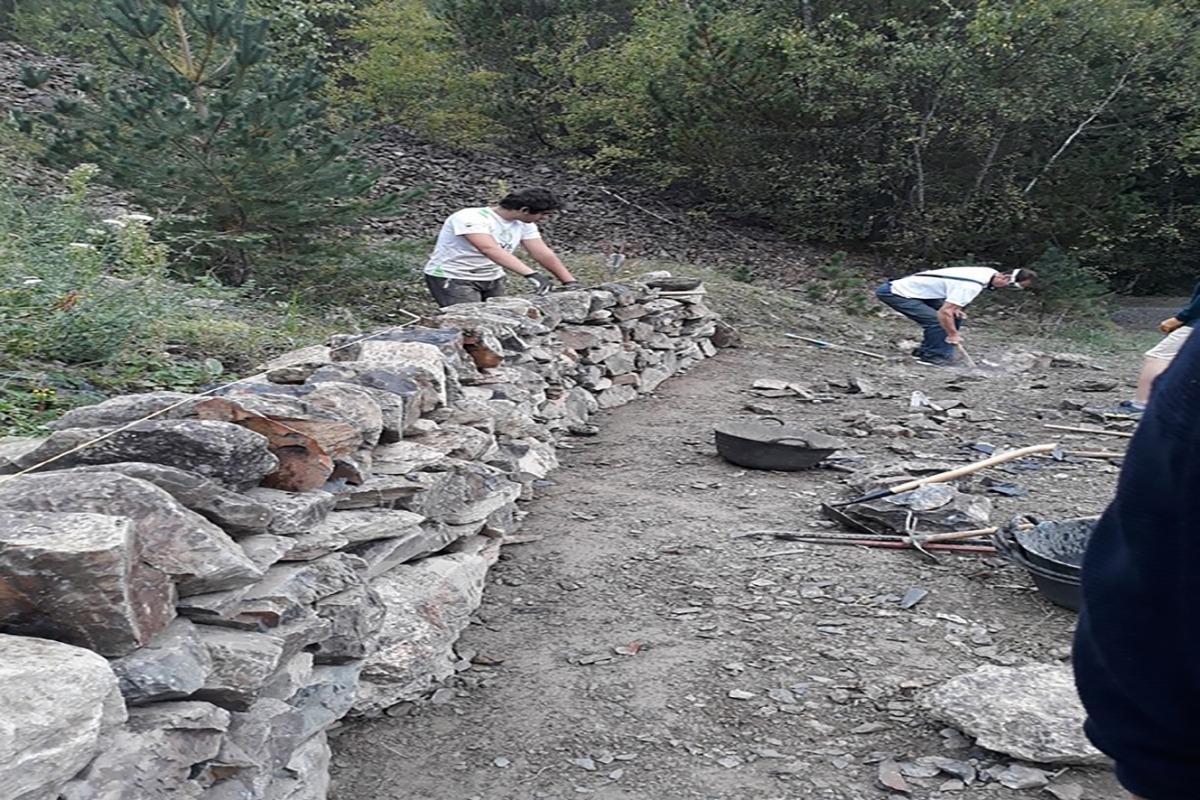 Obertes les inscripcions al tercer curs d'artesans de la pedra seca.