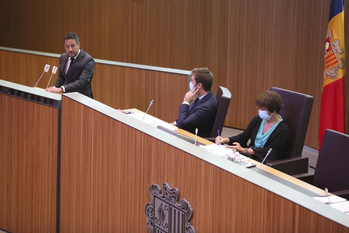 El president del grup socialdemòcrata, Pere López, ja va proposar un pacte per l'habitatge en el debat d'orientació política.