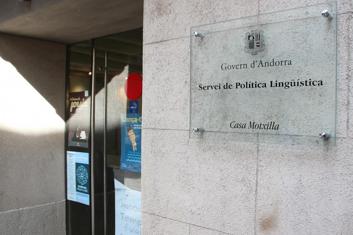 ANA/ El Servei de Política Lingüística.