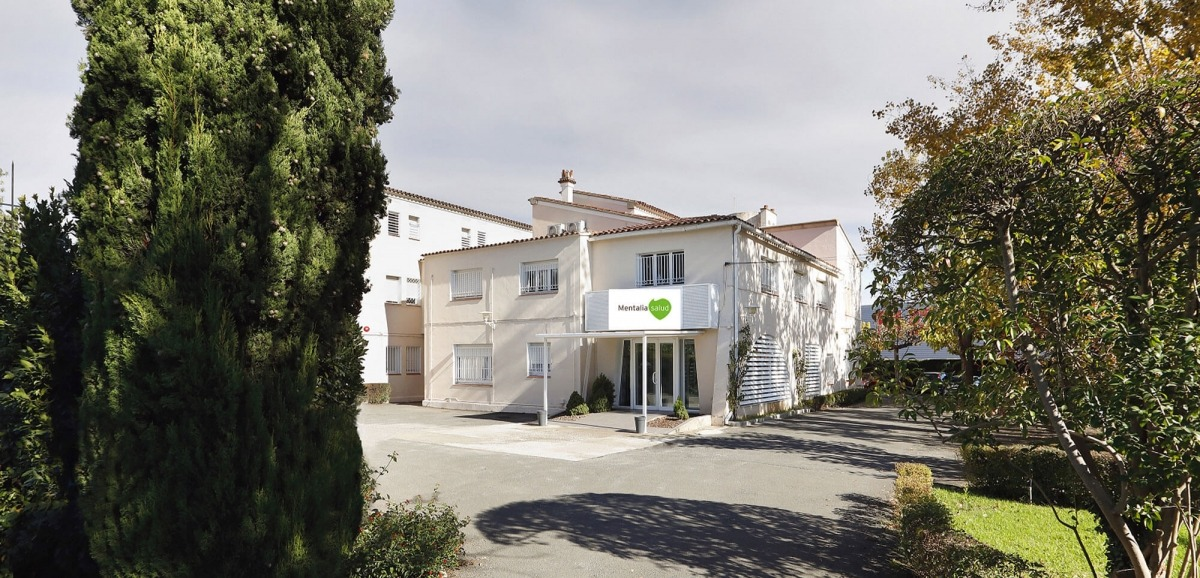 El centre Mentalia, antic hospital Bellavista.