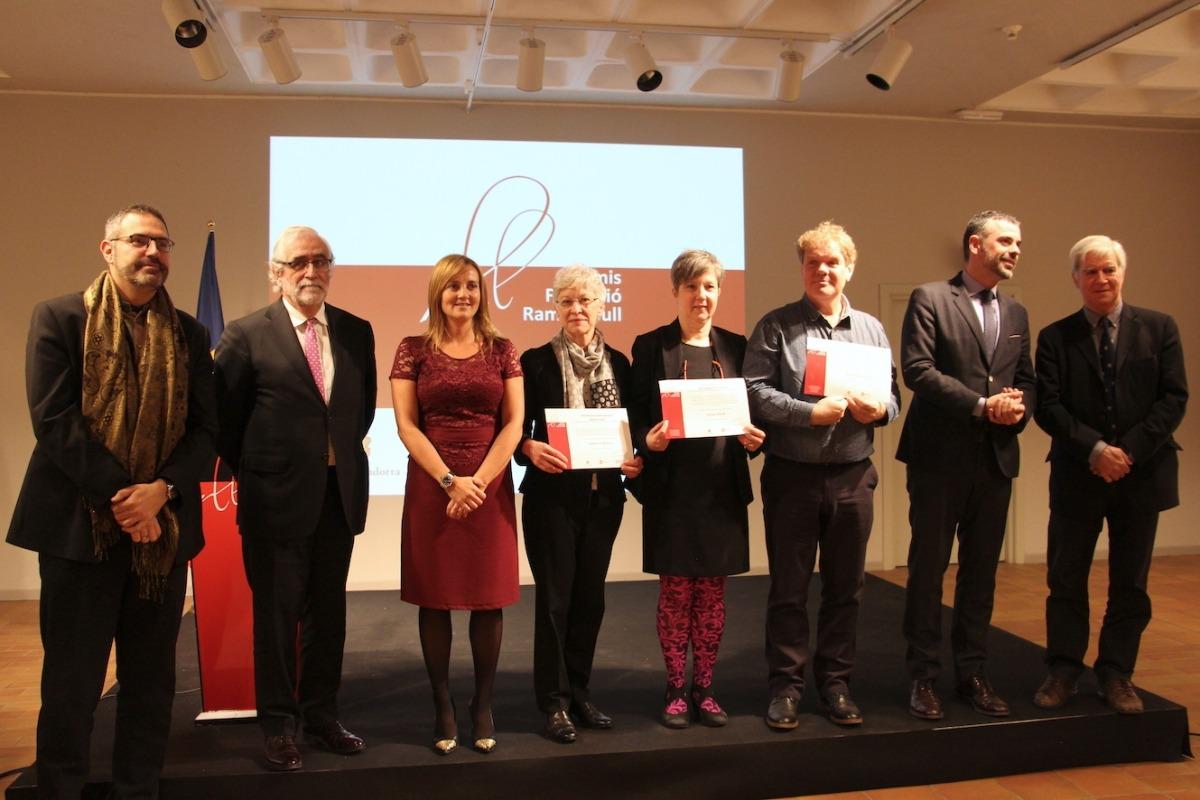 Woolard, Brandt i Konijnenbelt reben els V Premis de la Fundació Ramon Llull Woolard, Brandt i Konijnenbelt reben els V Premis de la Fundació Ramon Llull